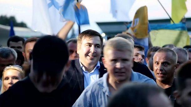 """Одного из активистов """"прорыва"""" Саакашвили через границу арестовали на два месяца"""