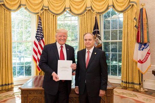Дональд Трамп и Анатолий Антонов встретились в Вашингтоне
