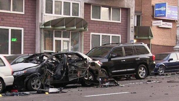 Наслідки вибуху на Бесарабці в Києві