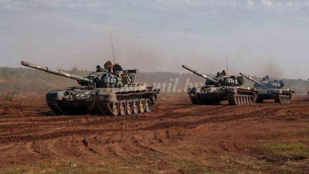Військові навчання Захід-2017 розпочалися в Білорусі