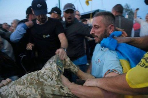 УЛьвові учасника прориву наПП «Шегині» заарештували надва місяці