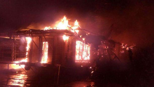 Пожежа у УКиєві