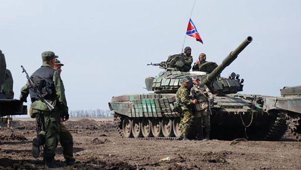 Терорист на Донбасі (ілюстрація)