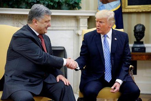 Трамп зустрінеться з Порошенко 21 вересня