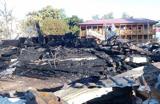 Пожар в детском лагере в Одессе расследует полиция