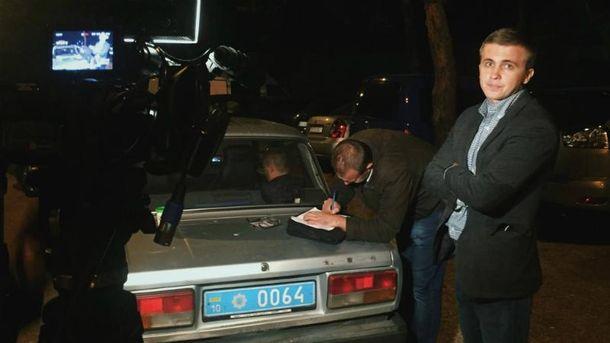 Гелетей попросил прощения у журналиста, на которого напали сотрудники УГО