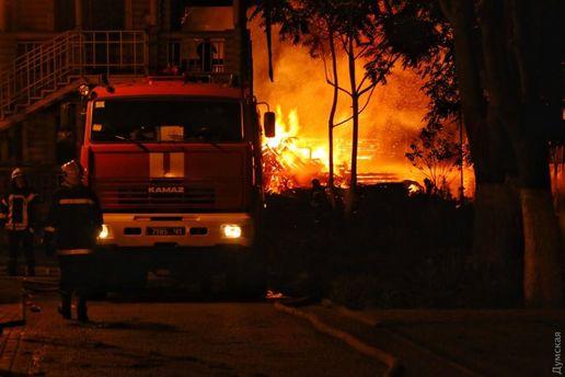 Пожар в лагере в Одессе: в ходе расследования выяснились неожиданные детали