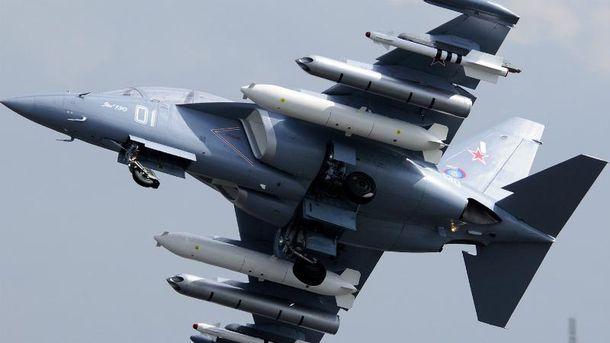 Военный самолет потерпел катастрофу в России