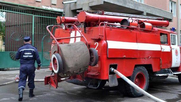 ВОдесі палав тролейбус