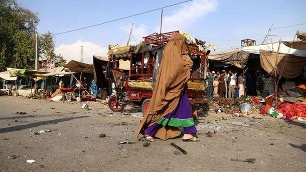 ВАфганістані наринку стався вибух, четверо загиблих