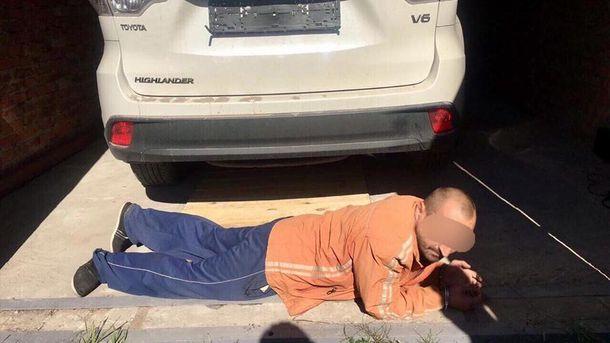 Один из задержанных похитителей