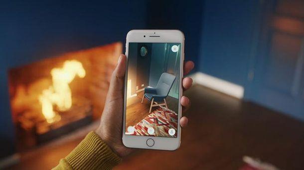 IKEA представила изумительное мобильное приложение сдополненной реальностью