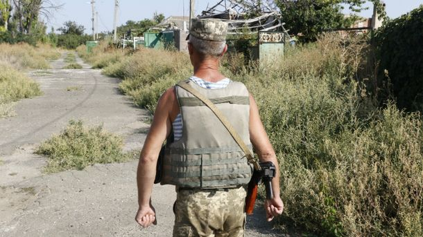 Двоє українських воїнів поранені в зоні АТО
