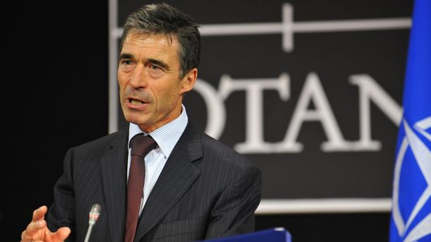 Экс-генсек НАТО Расмуссен призвал дать Украине оборонительное оружие