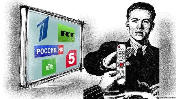 Росія запустила телеканал під назвою