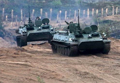 Самые масштабные военные маневры в рамках учений