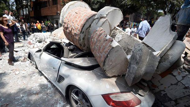 УМексиці число жертв землетрусу зросло до295 осіб