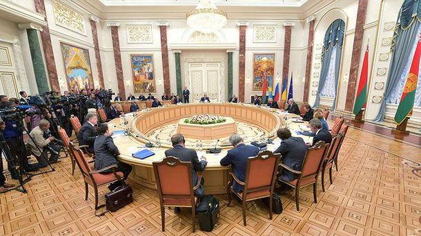 Засідання тристоронньої контактної групи в Мінську