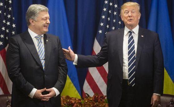 Петро Порошенко провів зустріч із Дональдом Трампом