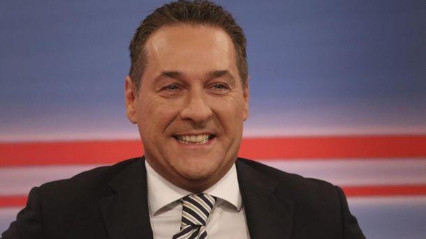 Лидер ультраправых Австрии назвал Крым частью РФ