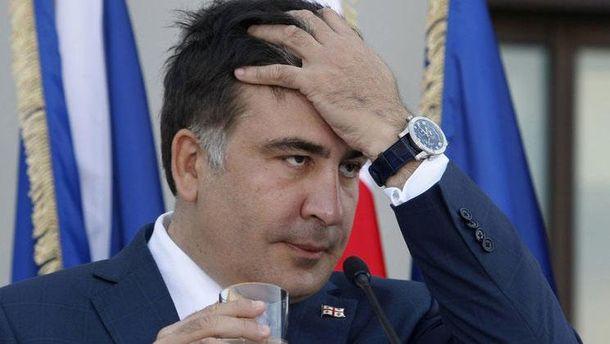 Суд вУкраине оштрафовал Саакашвили на $130 занезаконное пересечение грани ...