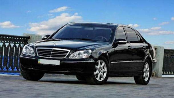 Нафтогаз продаст собственный автомобильный парк Мерседесов