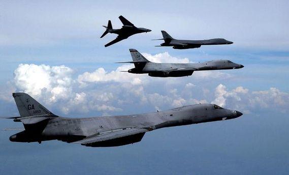 Американские бомбардировщики пролетели около воздушного пространства КНДР