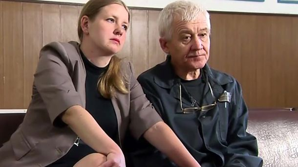 Сергій Ткач та його дружина Олена