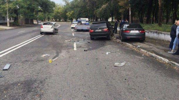 Аварія за участі поліцейських