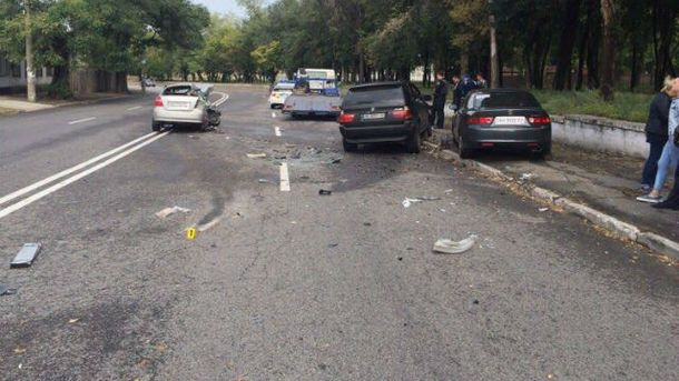 ВДнепре случилось смертельное ДТП сучастием полицейской машины