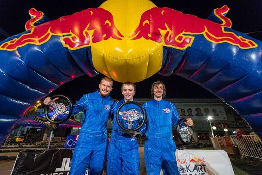 Победители Red Bull Kart Fight