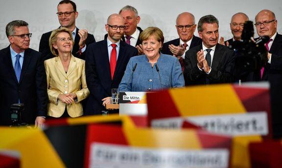 Меркель решила невести коалиционные переговоры сАдГ