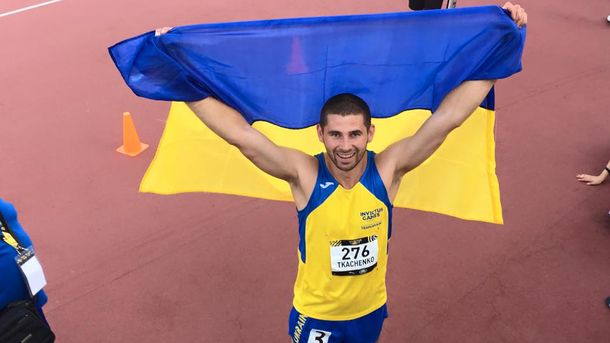 Олександр Ткаченко здобув срібну медаль