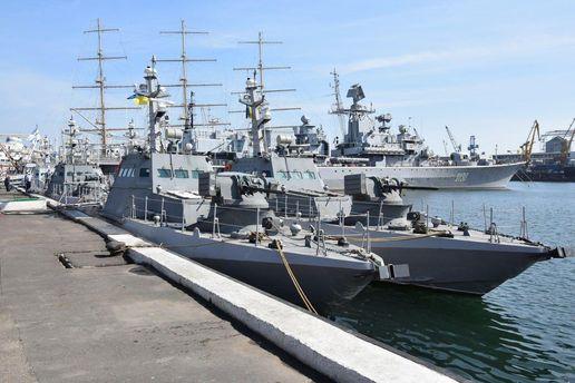 Нові броньовані артилерійські катери