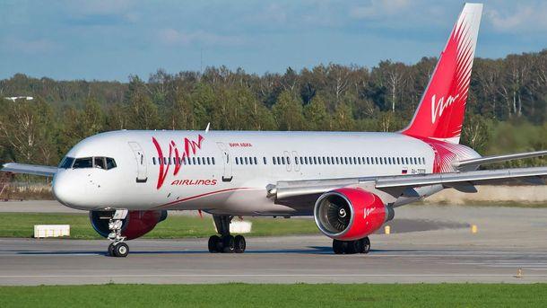 Чартерные рейсы «ВИМ-Авиа» будут совершаться порасписанию наследующей неделе