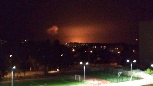 48-й арсенал в Калиновке уничтожен противником, совпадений быть не может
