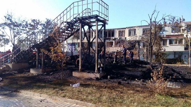 Натериторії одеського дитячого табору «Вікторія» арештували всі будівлі