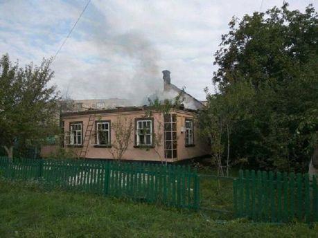 Зруйнований будинок у Калинівці