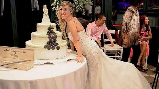 Італійка «одружилася» сама зсобою