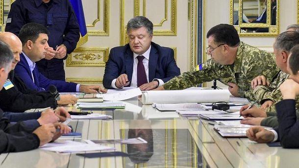 Порошенко увів у дію Концепцію щодо управління державою в умовах надзвичайного стану