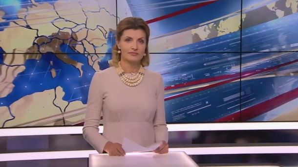 Марина Порошенко привітала президента на 5 Каналі