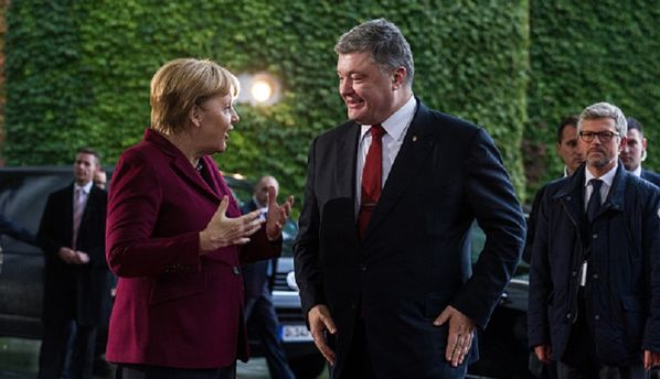 Порошенко і Меркель обговорили розміщення миротворців наДонбасі