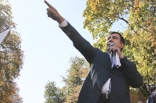 Саакашвили подал апелляцию на решение суда о незаконном пересечении границы