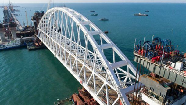 Украина подаст в суд на РФ из-за вреда от строительства Керченского моста