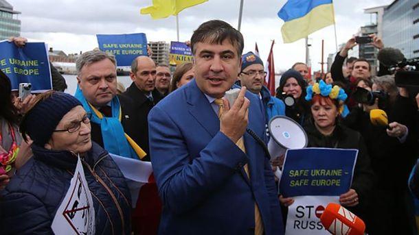 Лишение Саакашвили гражданства: вАП отказались показать указ