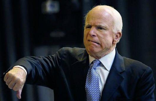 Маккейн: Білий дім невиконує закон про санкції протиРФ