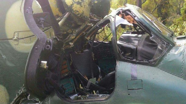 Авария военного самолета в Конго