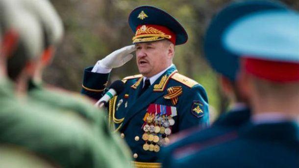 З'явилось фото з могили російського генерала, який командував бойовиками