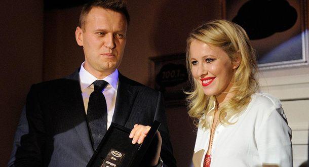 Собчак предложила Навальному объединиться