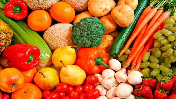 Сердце любит фрукты и овощи